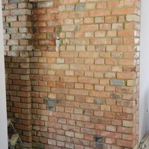 Renowacja cegły po II